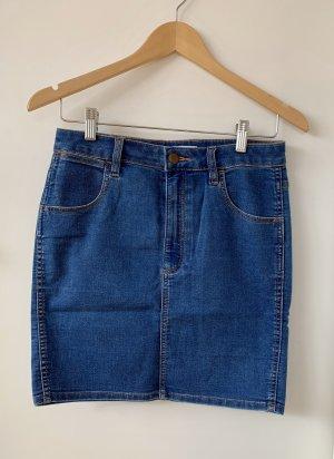 Wrangler High Waist Skirt light blue-blue