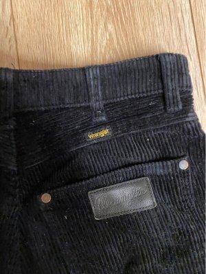 Wrangler Jeans a vita alta nero Cotone