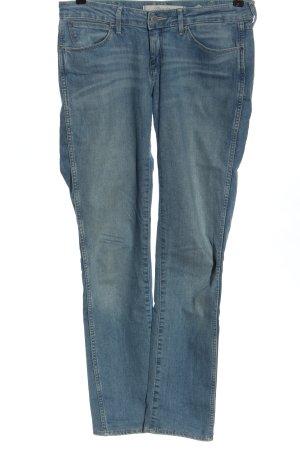 Wrangler Jeansy biodrówki niebieski W stylu casual