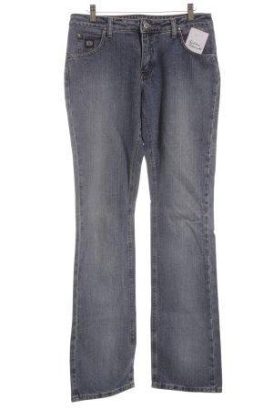 Wrangler Hüftjeans blassblau Washed-Optik