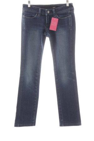Wrangler Jeans vita bassa blu