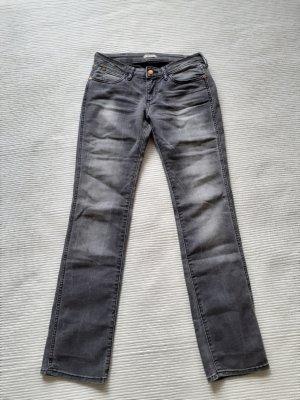 Wrangler Jeans a gamba dritta argento
