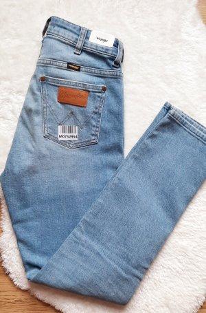Wrangler Jeans a vita alta multicolore
