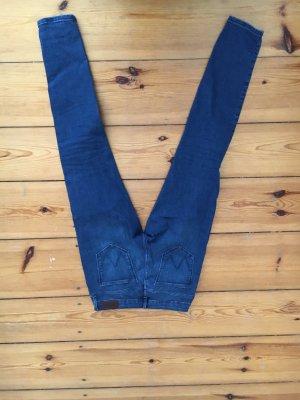Wrangler Jeans, slimfit, blau, skinny Jeans, 28, 36