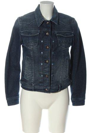 Wrangler Blazer in jeans blu stile casual