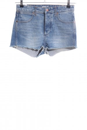 Wrangler Jeansshorts blau Casual-Look