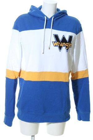 Wrangler Hooded Sweatshirt themed print casual look