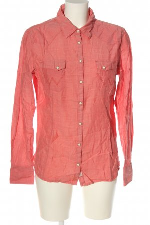 Wrangler Camicia a maniche lunghe rosa elegante