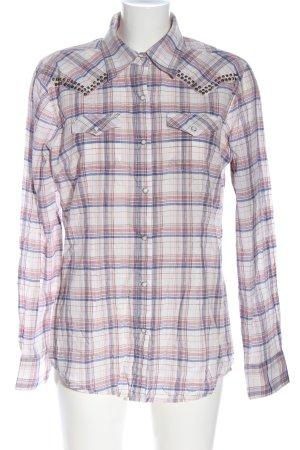 Wrangler Camicia a maniche lunghe motivo a quadri stile casual