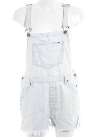 Wrangler Latzhose himmelblau Street-Fashion-Look