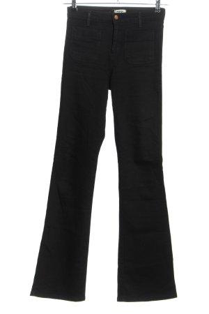 Wrangler Jeans large noir style décontracté