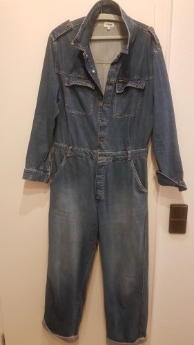 Wrangler Bib Denim dark blue