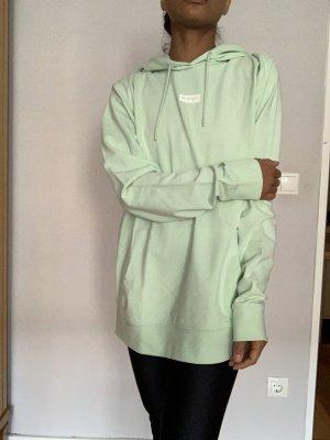 Wrangler Pastell grün hoodie in L