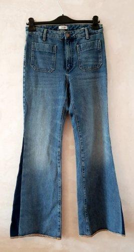 Wrangler Jeansy z wysokim stanem ciemnoniebieski-stalowy niebieski
