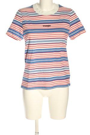 Wrangler Koszulka w paski Wzór w paski W stylu casual