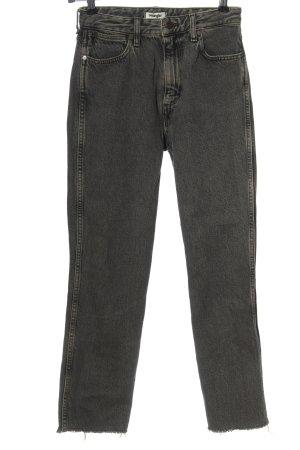 Wrangler High Waist Jeans hellgrau Casual-Look