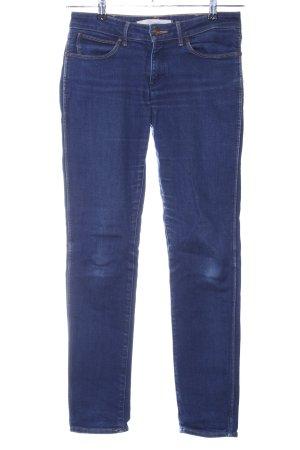 Wrangler Skinny Jeans blau Casual-Look