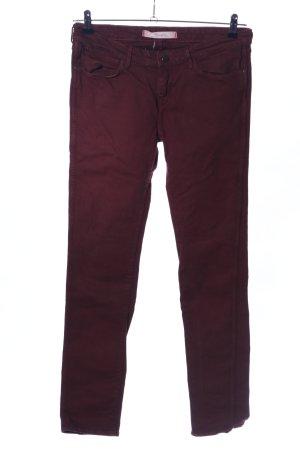 Wrangler Skinny Jeans braun Business-Look
