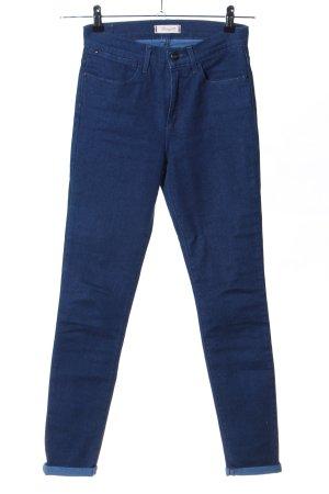 Wrangler Skinny jeans blauw casual uitstraling