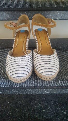 Wrangler Wedge Sandals natural white
