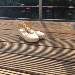 Wrangler Sandalias con plataforma blanco puro-crema