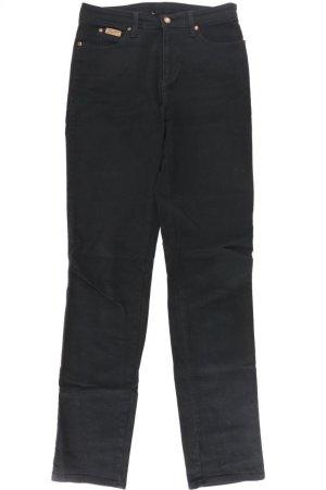 Wrangler Straight Jeans Größe W28 schwarz aus Baumwolle