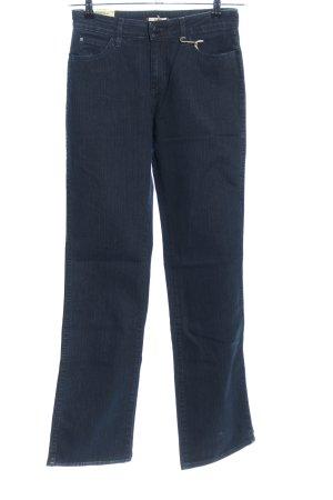 Wrangler Straight-Leg Jeans blau Casual-Look
