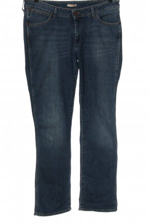 Wrangler Straight Leg Jeans blue casual look