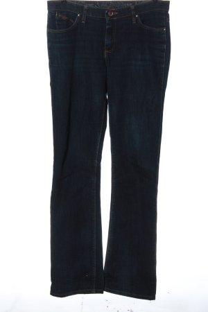 Wrangler Jeansy z prostymi nogawkami niebieski Elegancki