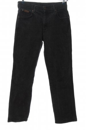Wrangler Straight Leg Jeans black casual look