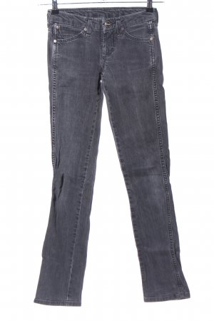 Wrangler Straight-Leg Jeans hellgrau Casual-Look