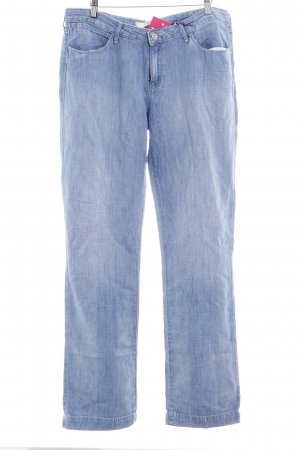 Wrangler Straight-Leg Jeans himmelblau Casual-Look