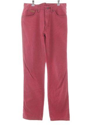 Wrangler Straight-Leg Jeans rostrot Casual-Look