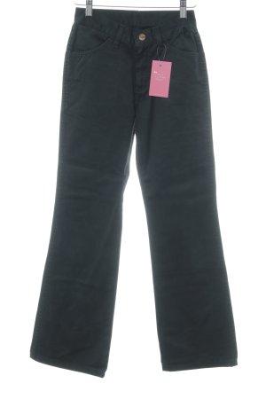 Wrangler Straight-Leg Jeans schwarz schlichter Stil