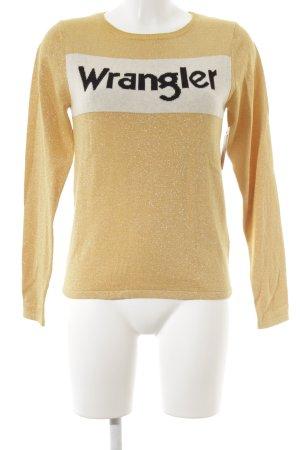 Wrangler Strickpullover mehrfarbig Casual-Look