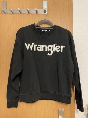 Wrangler Bluza dresowa czarny-biały