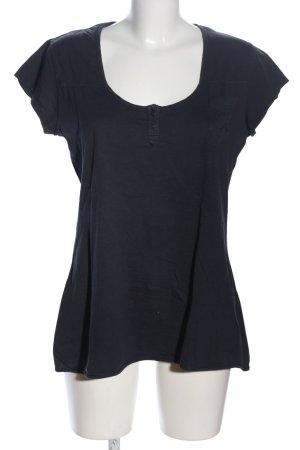 Wrangler T-Shirt schwarz Casual-Look