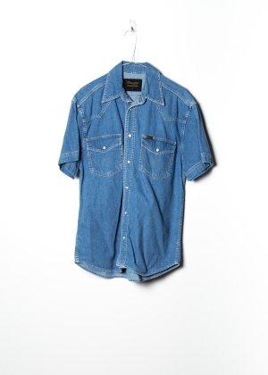 Wrangler Chemise hawaïenne bleu jean