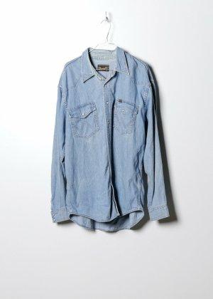Wrangler Camicia denim blu Denim