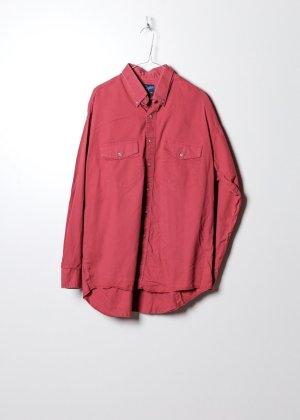 Wrangler Koszula z długim rękawem czerwony Denim