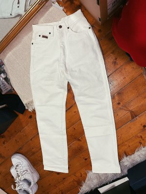 Wrangler Mom-Jeans biały