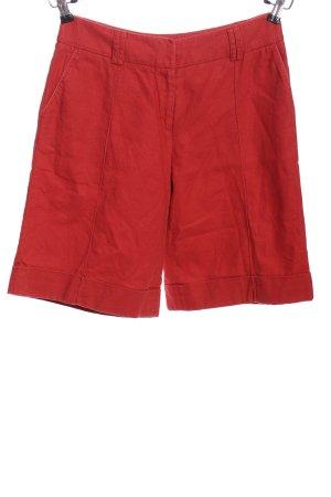 Wrap High-Waist-Shorts rot Casual-Look