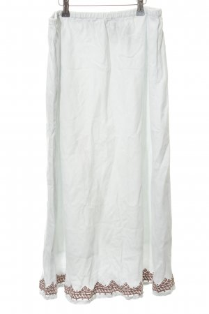 Wrap Leinenrock weiß-bronzefarben Casual-Look