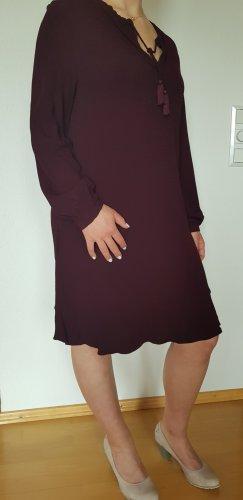 Wrap A Line Dress bordeaux