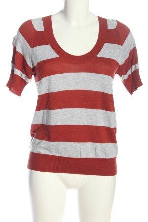 Wrap V-Ausschnitt-Shirt