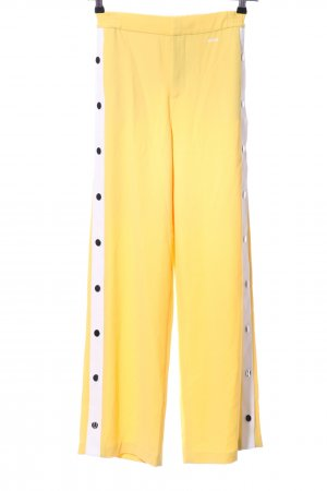 WRSTBHVR Baggy Pants yellow-natural white athletic style