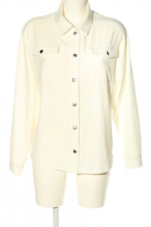 WRSTBHVR Hemd-Bluse creme Casual-Look