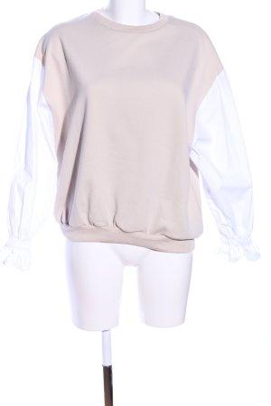 WRSTBHVR Sweatshirt nude-weiß Casual-Look