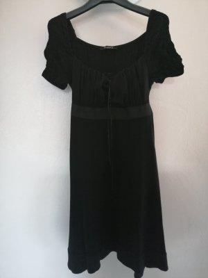 Siste's Sukienka z odcięciem pod biustem szaro-brązowy-czarny