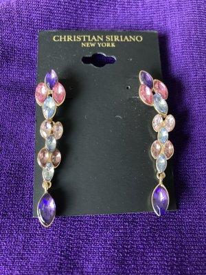 Wunderbar exclusive christian siriano ohrringe hänge chandelier